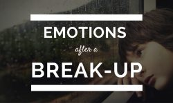 Emotions after a break-up